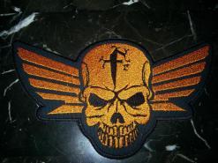5x7 Skull Wings